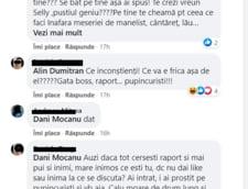 Dani Mocanu, criticat pe facebook