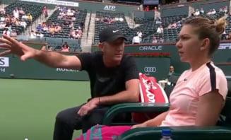 Darren Cahill, o noua interventie decisiva pentru Simona Halep: Iata cum a ajutat-o sa castige la Indian Wells