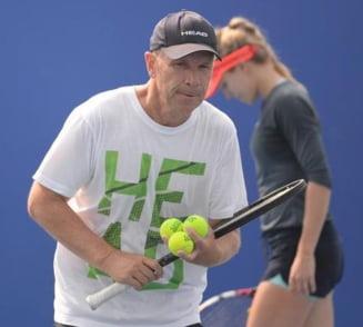 Dat afara de Simona Halep, in probe cu Bouchard: Ce se intampla cu fostul antrenor al Sharapovei?