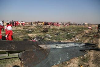 Date din ancheta: Avionul prabusit in Iran era in flacari in aer si a incercat sa se intoarca din drum