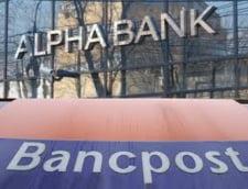 Datoria Greciei amana fuziunea Alpha Bank - Bancpost