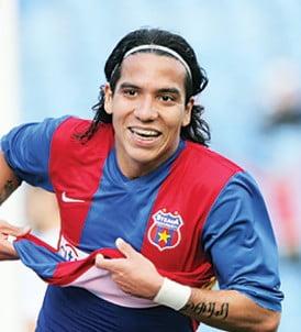 Dayro Moreno face senzatie la Steaua 2