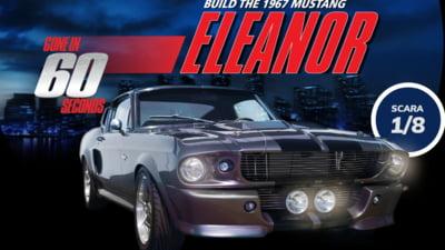 Deținerea machetei Mustang Eleanor este visul oricărui pasionat de machete