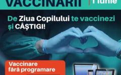 De Ziua Copilului te vaccinezi si castigi. Ce premii atractive se ofera