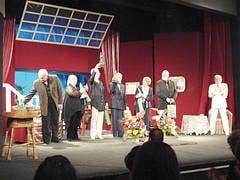De Ziua Mondiala a Teatrului, lacrimi si aplauze pentru sase actori constanteni