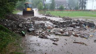 De astazi, Prefectura Brasov incepe sa inventarieze pagubele produse de inundatii