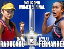 De cand n-a mai avut la US Open o finala intre doua adolescente? Terenul era verde la New York