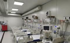 De ce este amânată, din nou, deschiderea spitalului mobil de la Lețcani pentru pacienți COVID