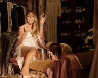De ce intra in cada Mariah Carey cu costumul de baie - Vedeta explica