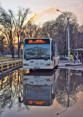 De ce n-ar trebui sa circule bucurestenii cu autobuzul, pe linia de tramvai: Altora le-a iesit, dar noi nu suntem pregatiti! Pui calatorii in pericol!