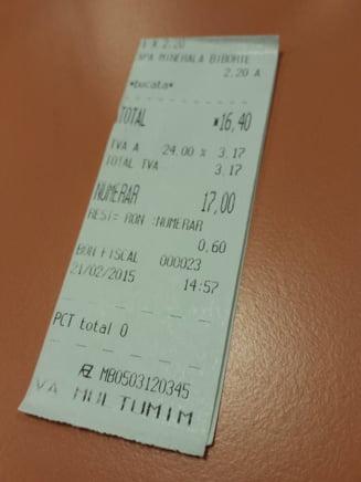De ce nu primim bon fiscal in piete sau la automatele de cafea si dulciuri - Ce spune legea
