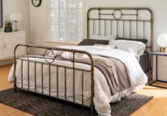 De ce sa alegi un pat din fier forjat pentru dormitorul tau