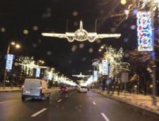 De ce si pana cand mai ard cele 9 milioane de beculetele festive din Bucuresti