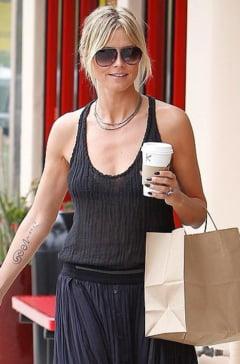De ce-si scoate Heidi Klum un tatuaj