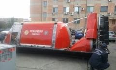 De la Fundatia pentru SMURD: Salupa si hovercraft pentru sistemul de urgenta din judetul Tulcea