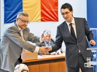 De necrezut: Razvan Burleanu, pe cale sa fie dat afara de la FRF