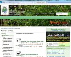 De vineri se poate si online: Permise de pescuit si de acces in delta, de pe internet