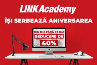 De ziua ei, LINK Academy va face cadou o reducere de 40%