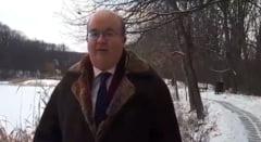 """De ziua lui Eminescu, ambasadorul Marii Britanii s-a dus la Ipotesti si a recitat poezia """"Lacul"""" (Video)"""