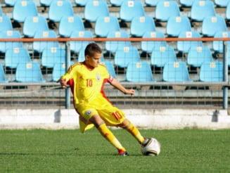 Debut cu stangul pentru nationala under 17 a Romaniei: Cum s-a descurcat Ianis Hagi