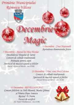 Decembrie magic in Ramnic