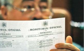 Decizia CCR, publicata in Monitorul Oficial - Basescu e iar presedinte