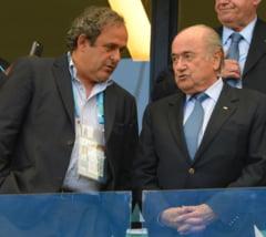 Decizie fara precedent a FIFA: Blatter si Platini, suspendati 8 ani!