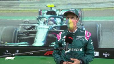 Decizie radicală în Formula 1: Sebastian Vettel, locul doi în Ungaria, a fost descalificat!