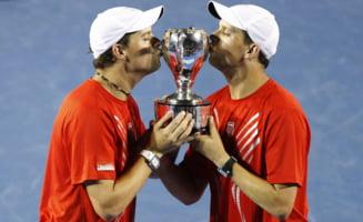 Decizie radicala anuntata de fratii Bryan, in ce priveste Cupa Davis
