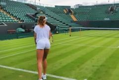 Decizie radicala la Wimbledon. Ce se intampla cu meciul Buzarnescu - Williams. Ploaia a afectat programul