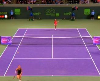 Decizie surprinzatoare a WTA: Simona Halep, exclusa din topul celor mai frumoase lovituri de la Miami (Video)