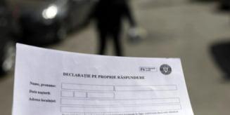 Declaratia pe propria raspundere poate fi scrisa de mana? Raspunsul oficial