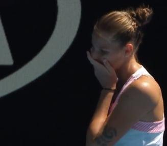 """Declaratie sincera a Pliskovei dupa ce a invins-o pe Serena Williams: """"Eram deja la vestiare"""""""