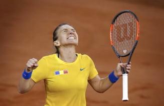 Declaratie superba a Simonei Halep: In Fed Cup nu joc pentru mine, ci pentru Romania