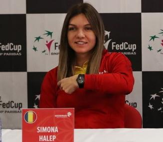 Declaratie superba facuta de Simona Halep inaintea intalnirii cu Cehia din Fed Cup