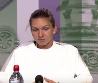 Declaratiile Simonei Halep dupa victoria de la Wimbledon: Sunt fericita, totul a mers bine