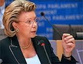 Declaratiile comisarului Viviane Reding taxate de oficialii francezi