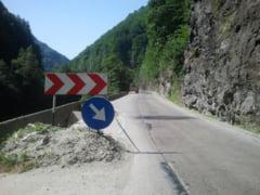 Defileul Jiului, inchis partial traficului rutier, timp de trei luni