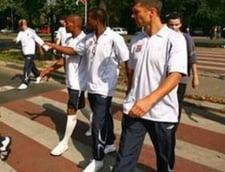 Delegatia clubului Olympique Lyon a sosit in Romania