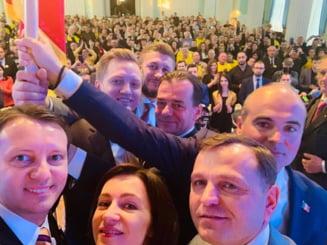 Delegatie PNL la Chisinau: Fortele oligarhice si pro-ruse incearca sa calce in picioare vointa exprimata de cetateni