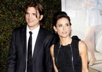 Demi Moore si Ashton Kutcher - o sarcina pierduta, adevaratul motiv al despartirii