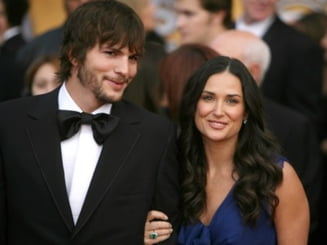 Demi Moore si Ashton Kutcher - weekend la munte pentru a-si salva casnicia