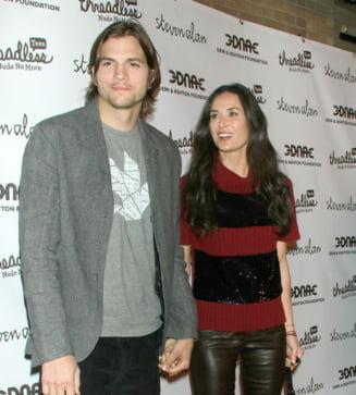 Demi Moore si Ashton Kutcher n-au fost casatoriti?