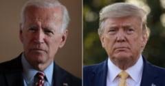 Democratul Joe Biden il devanseaza cu 10 puncte pe Donald Trump, dupa ce presedintele a fost testat pozitiv cu coronavirus