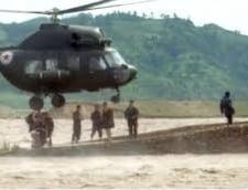 "Demonstratie de ""forta"": Coreea de Nord a trimis un elicopter la granita cu China"