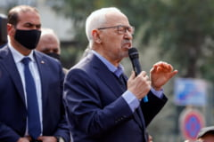 Demonstratie de forta a principalului partid din Tunisia, in plina criza politica