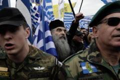 Demonstratii uriase in Grecia impotriva folosirii numelui de Macedonia de catre tara vecina: Daca facem concesii ar fi ca si cum ne-am deschide frontierele!