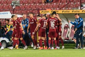 Denis Alibec, omul providențial pentru CFR Cluj. Ardelenii, singura echipă cu punctaj maxim în Liga 1