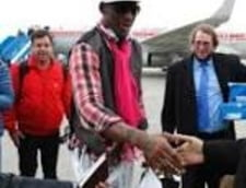 Dennis Rodman, iesire bizara din Coreea de Nord