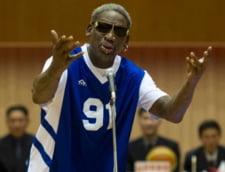 Dennis Rodman se scuza pentru o declaratie facuta in Coreea de Nord: Eram beat